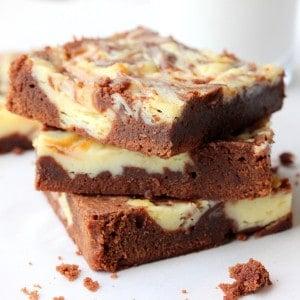Chocolate and Cheesecake Brownies