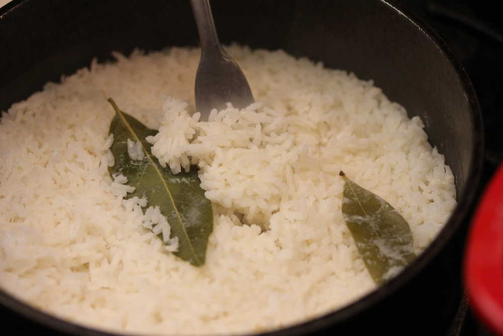 Perfectly steamed rice!