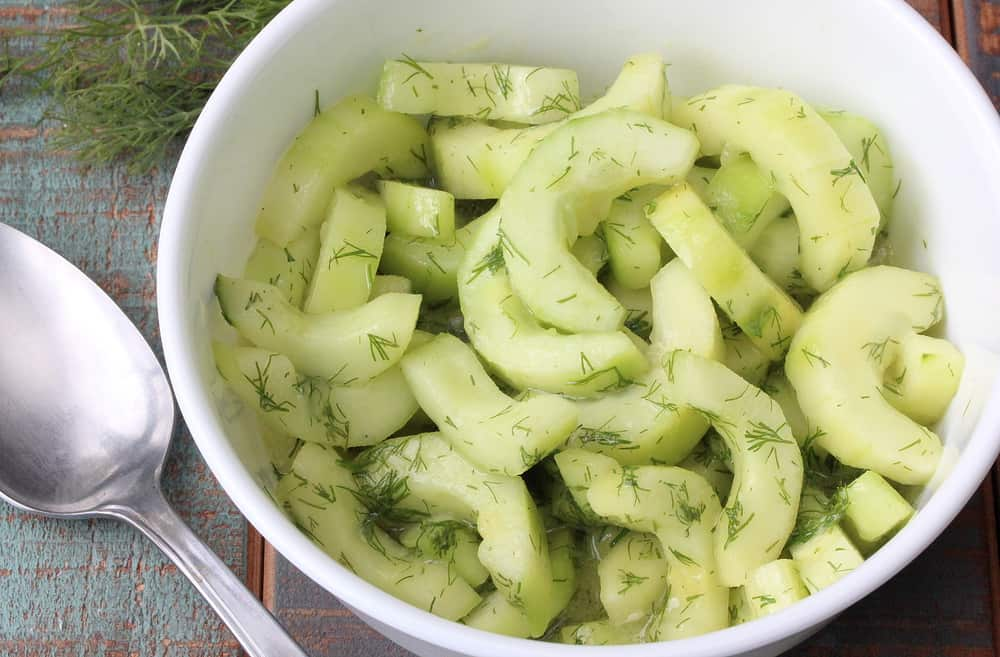 Cool Cucumber & Dill Salad