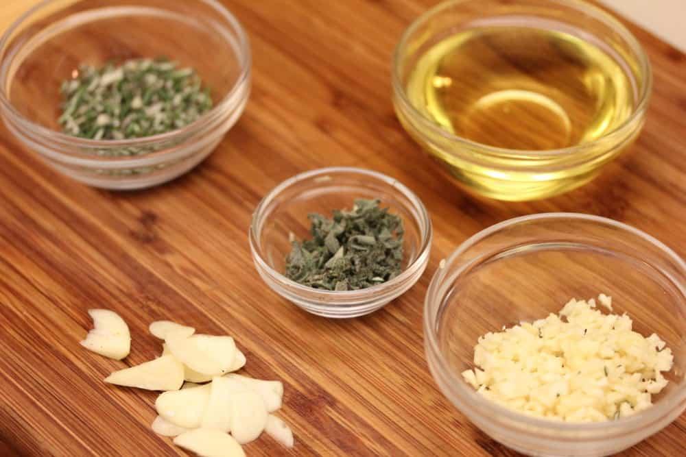 Simple flavorings go a long way!