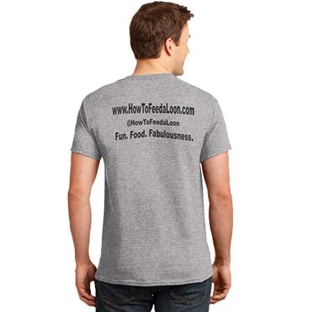 T-shirt-grey-back