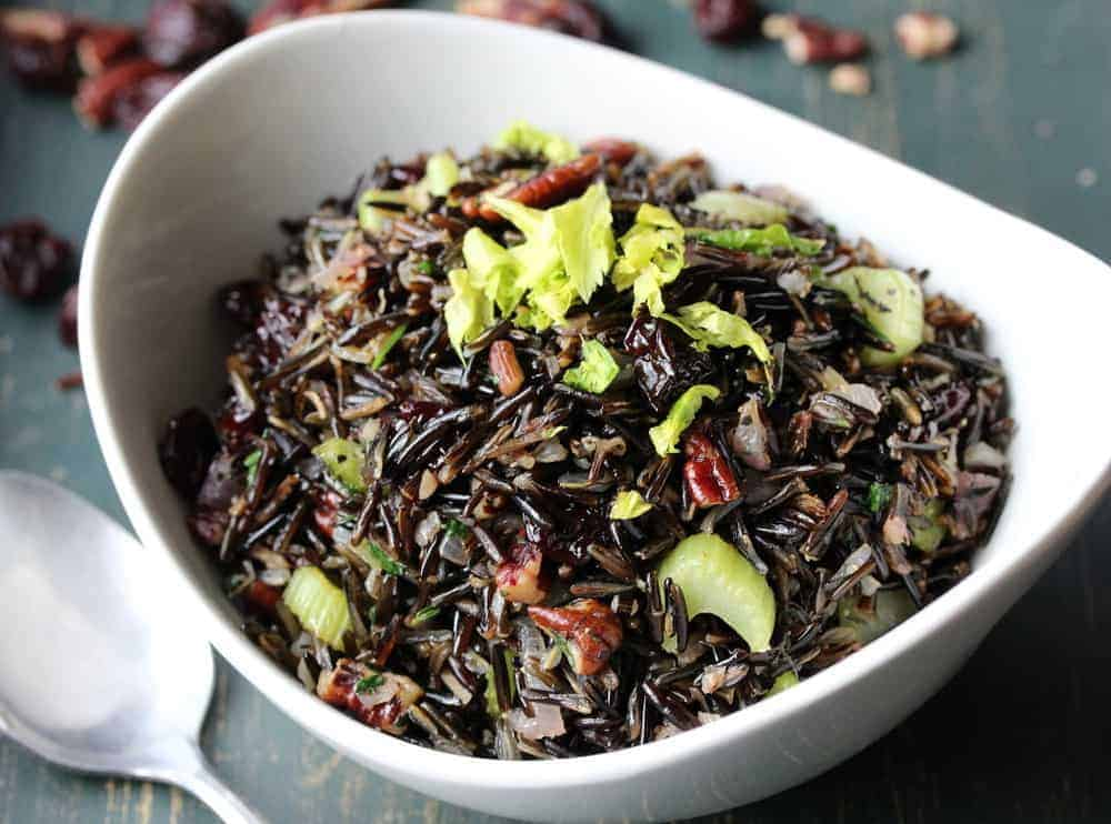 Wild Rice with Cherries and Pecans