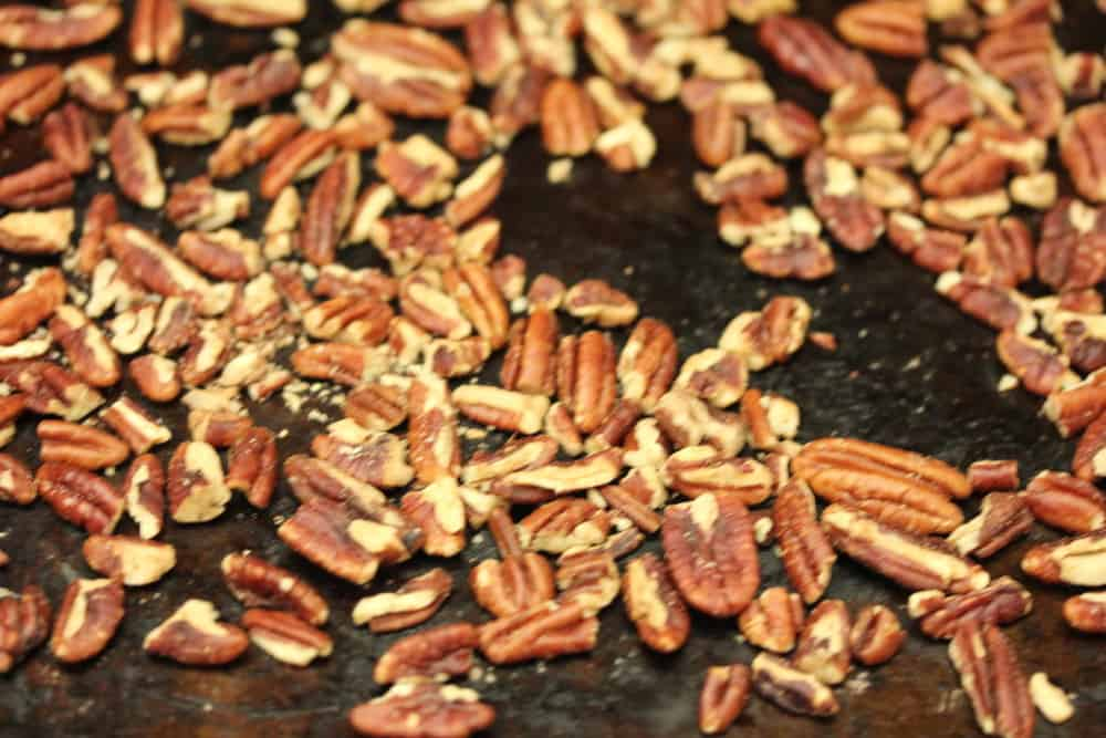 Mmmm...toasted pecans.