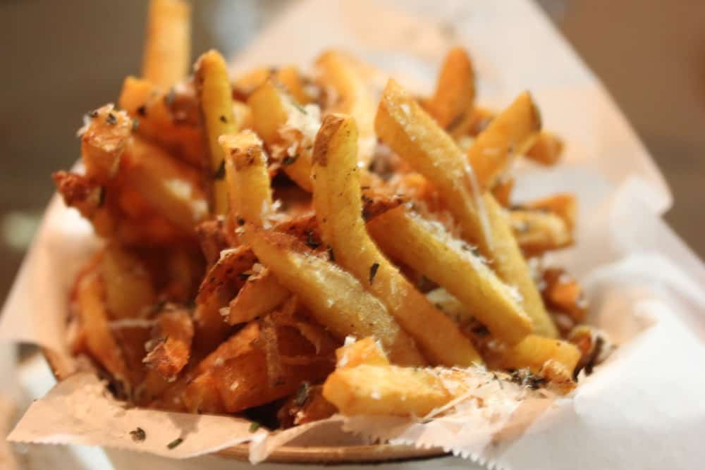 Parmesan Rosemary French Fries