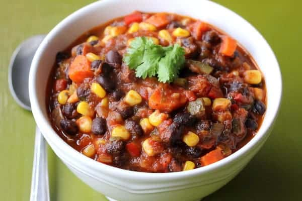 Vegetable & Black Bean Chili