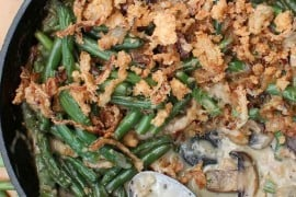 Gourmet green bean casserole recipe