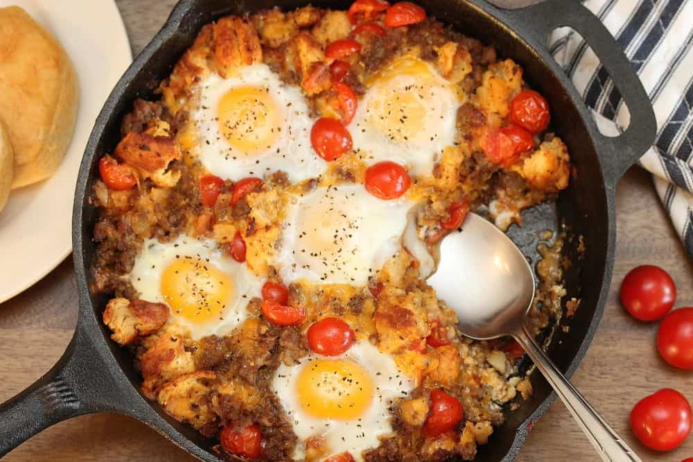 how to cook a breakfast skillet