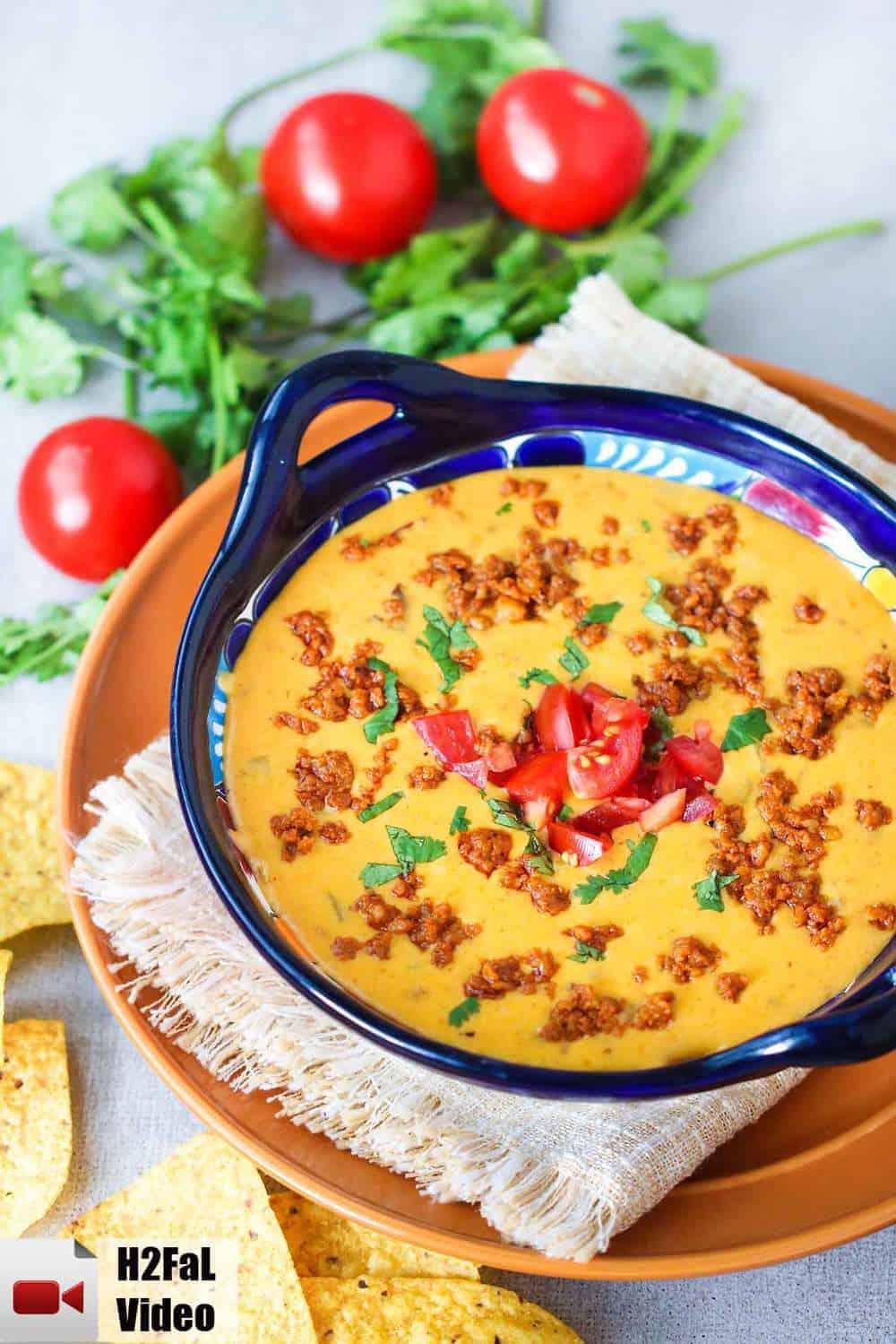 Queso with  Chorizo recipe