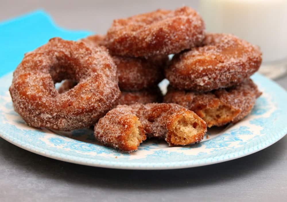 Apple Cider Cinnamon Doughnuts