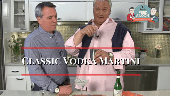 How to Make the Classic Vodka Martini