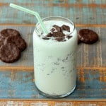 Kicked Up Grasshopper Milkshake