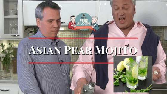 How to Make an Asian Pear Mojito