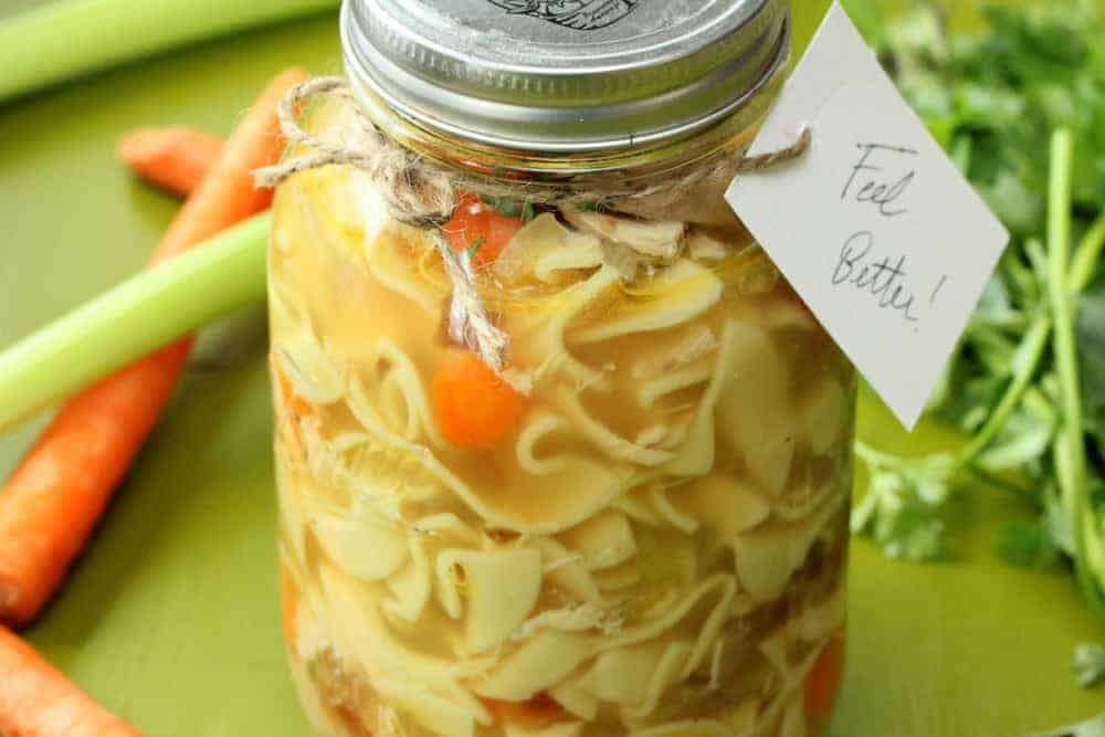 how to make chicken noodle soup from scratch easy