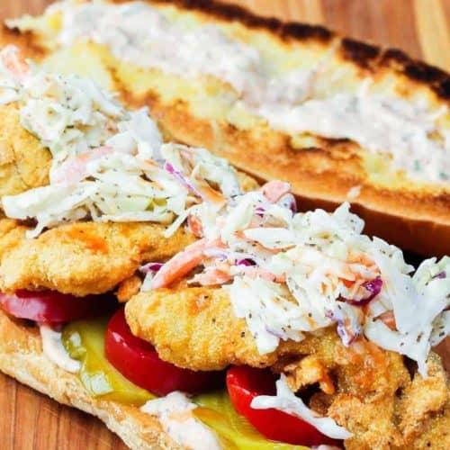 fried catfish po-boy