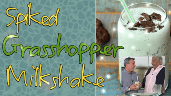 How to Make a Spiked Grasshopper Milkshake