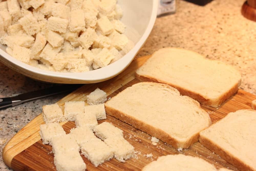 I love using sourdough bread!
