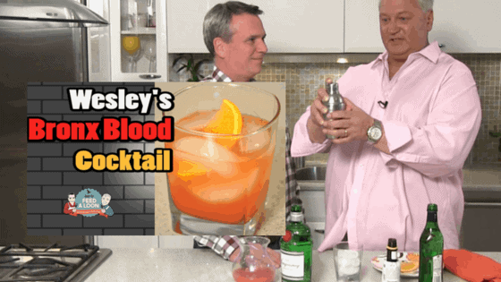 How to Make a Bronx Blood Cocktail