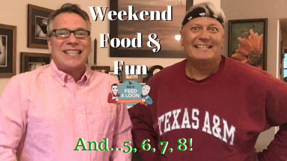 Weekend Food & Fun: Let's Get Healthy