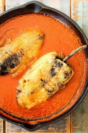Chilles Rellenos recipe