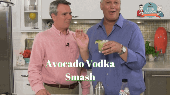 Avocado Vodka Smash