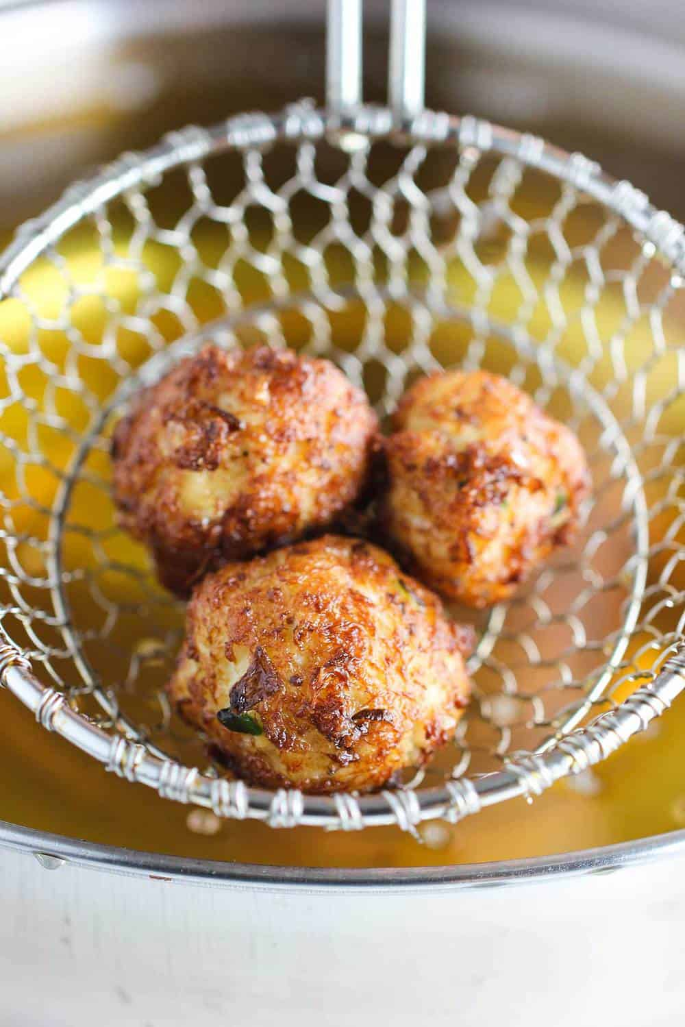 Southern Crab Beignets recipe
