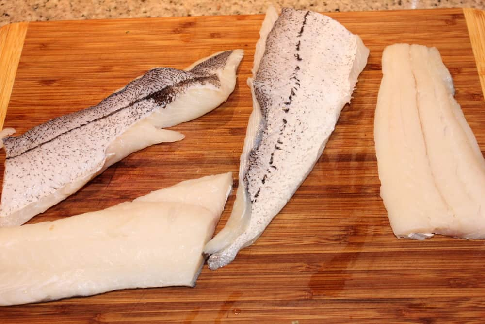 Haddock fillets...flaky perfection