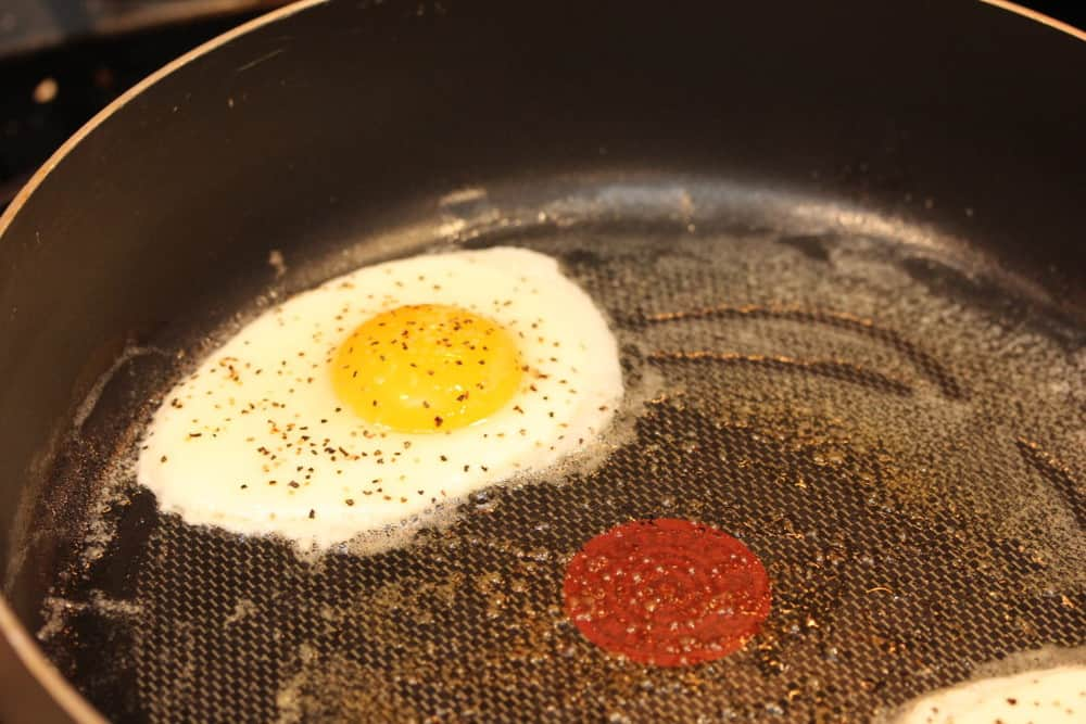 Top it with a beautifully fried egg