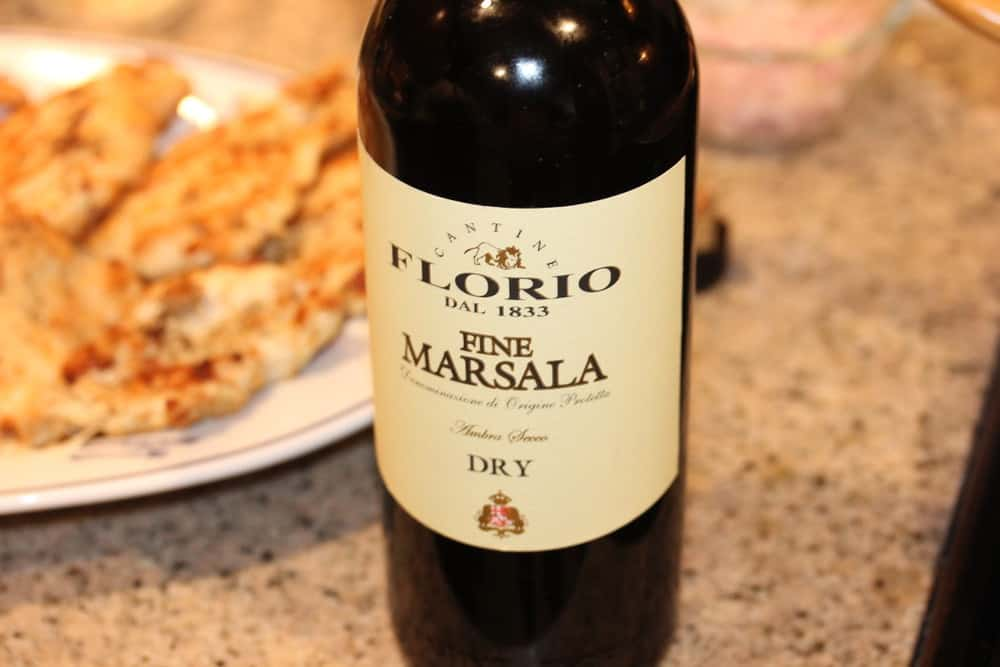 And then the Marsala...go with a dry Marsala. It's good.