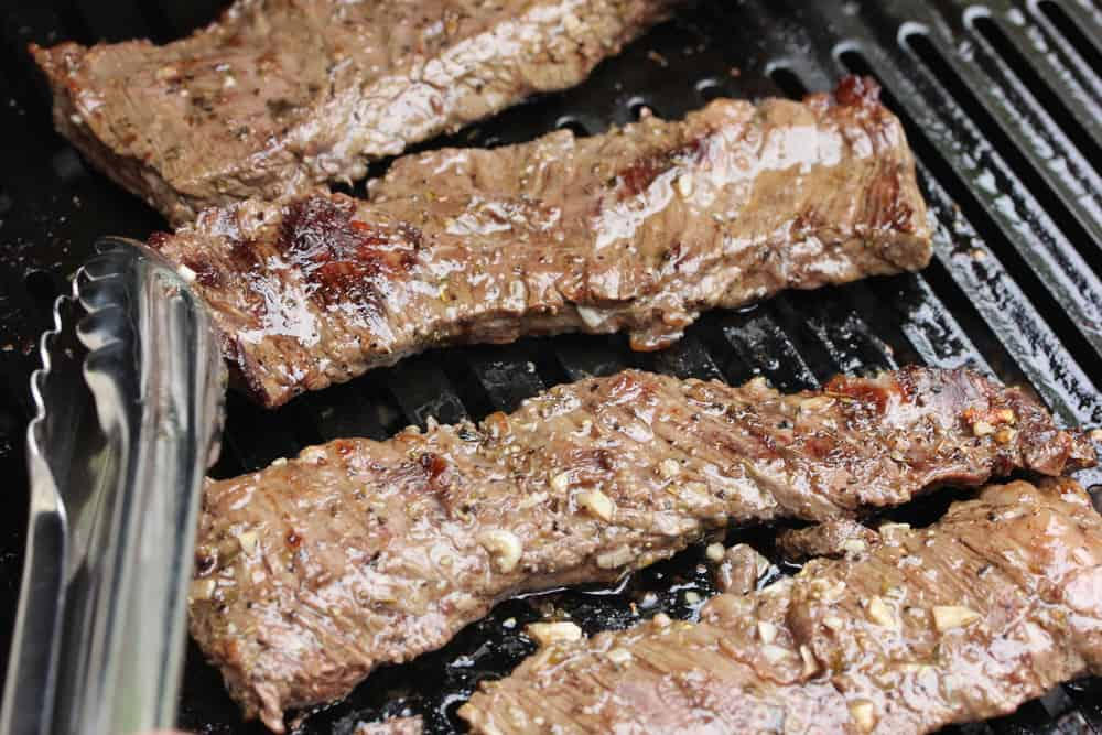 Marinated then grilled to perfection