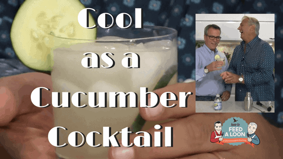 How to Make a Cool as a Cucumber Cocktail