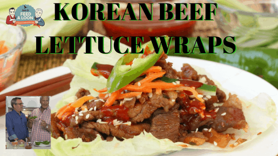 How to Make Korean Beef Lettuce Wraps