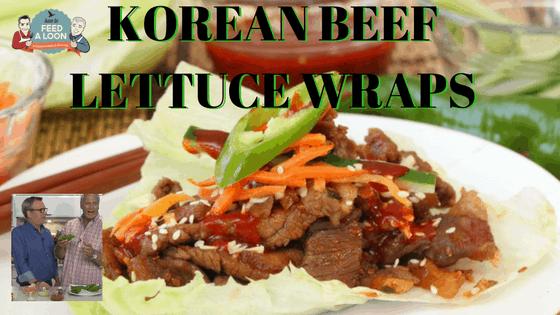 How to Make Korean Beef Lettuce Wraps