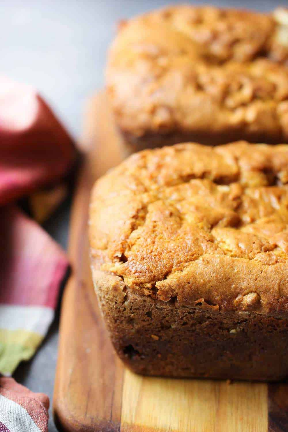 Pumpkin Butterscotch Bread recipe