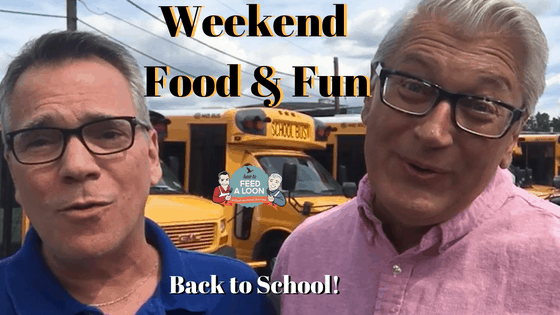 Weekend Food & Fun: Back to School!