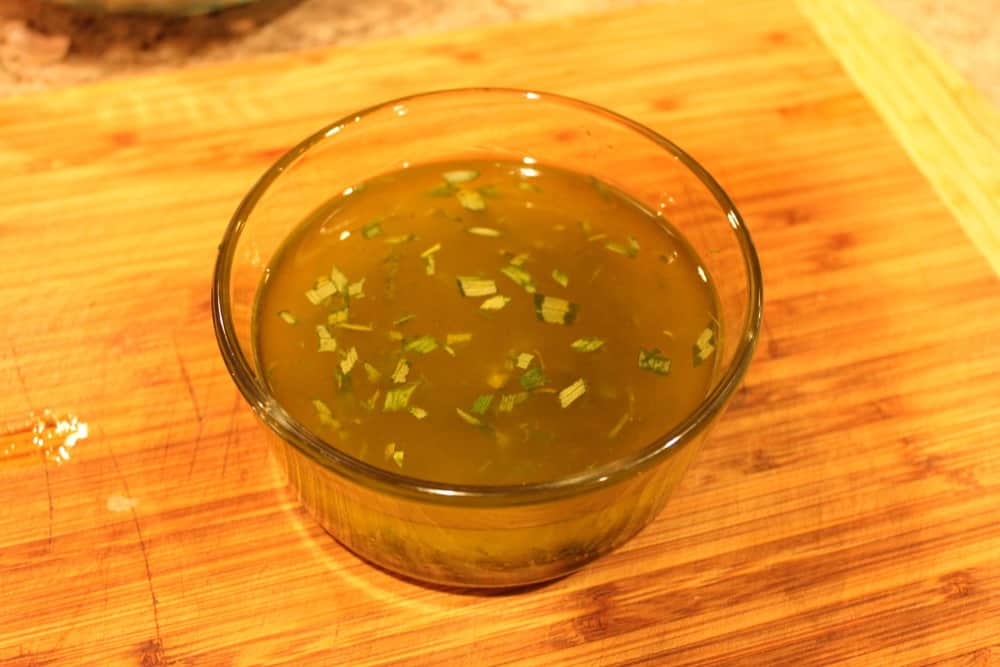The lemon and herb vinaigrette is so flavorful!