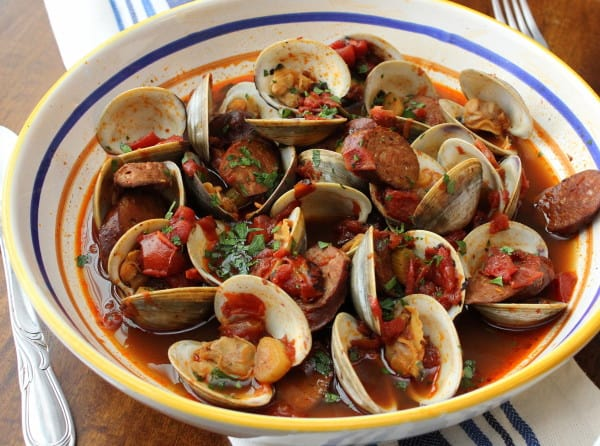 Portuguese-Style Clam Chowder