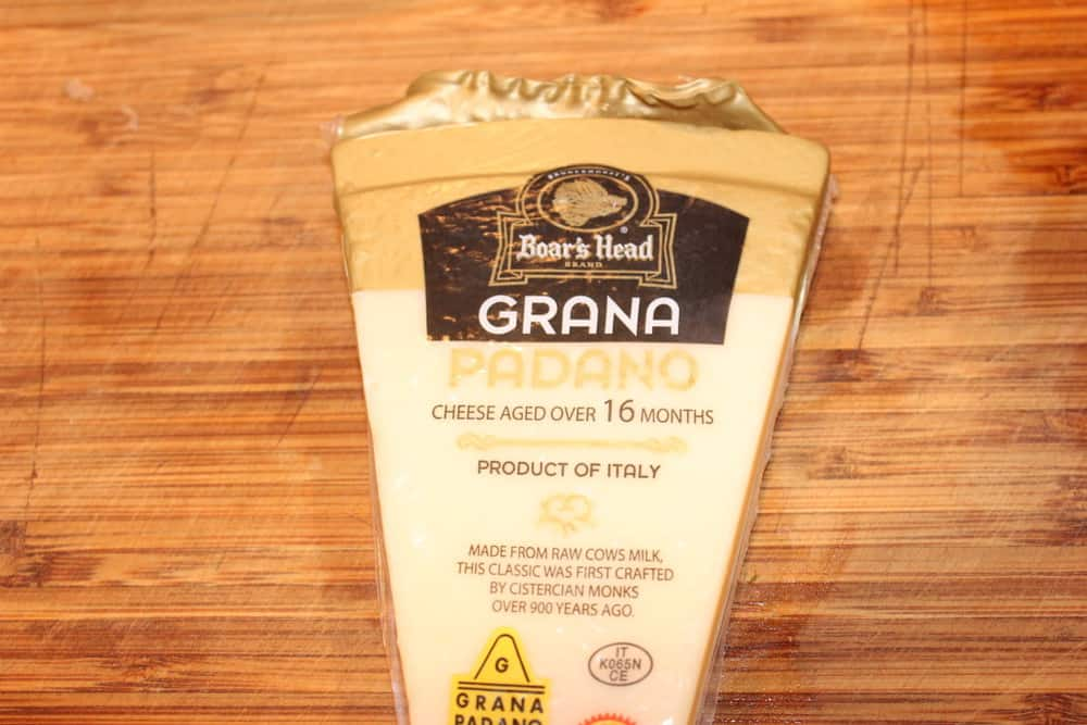 Grana Padano is an aged Parmesan cheese that can be found in most supermarkets