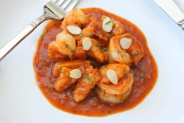Pumpkin Gnocchi with Shrimp