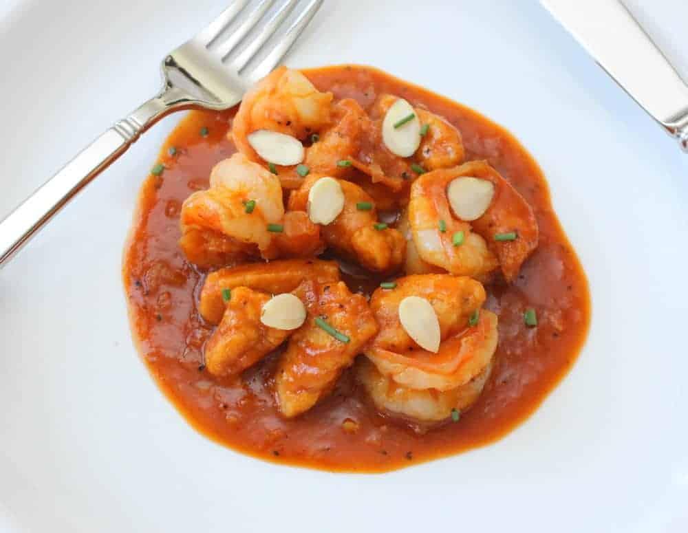 Pumpkin Gnocchi with Shrimp