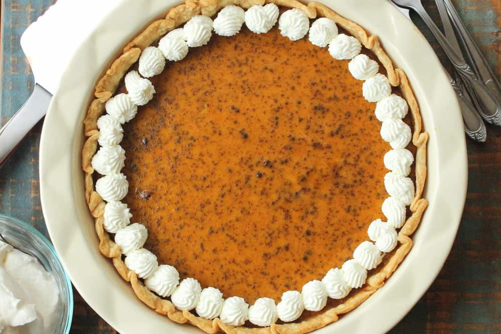 Classic Pumpkin Pie - How To Feed A Loon