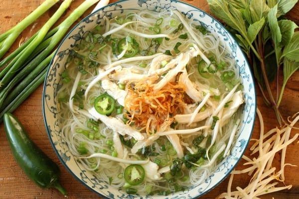 Pho (Vietnamese Chicken Noodle Soup)