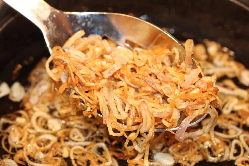 Fried shallots are so good!