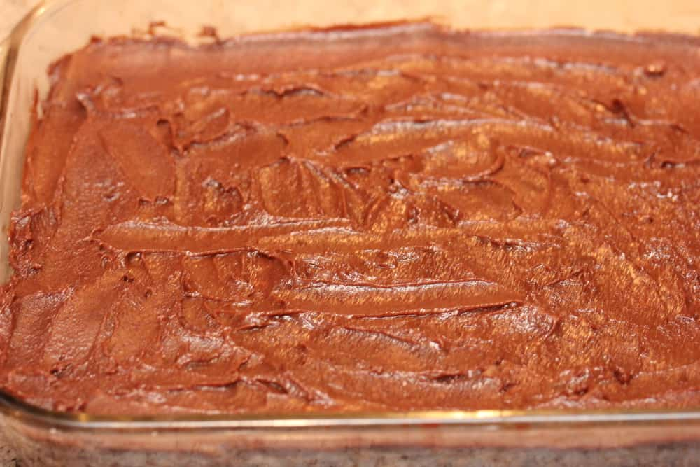Why not a little fudge icing?!
