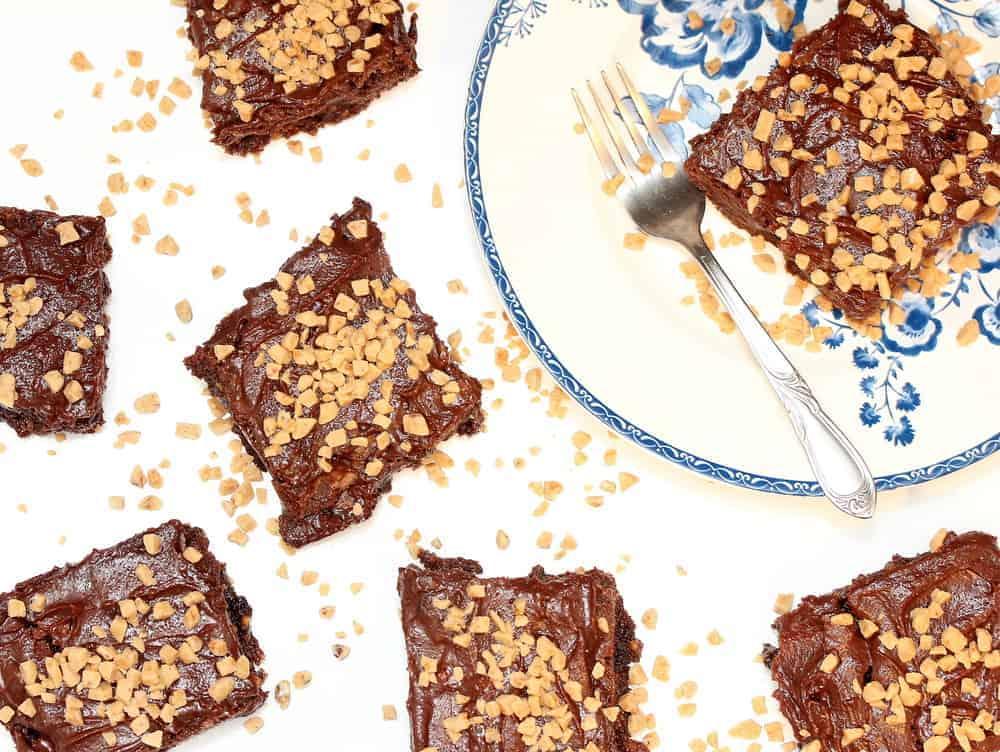 Heath Bar Fudge Brownies