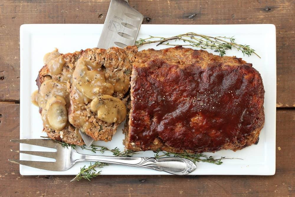 Best-Ever Meatloaf with Mushroom Gravy
