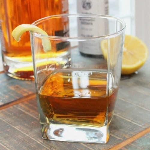 Classic Sazerac Cocktail