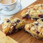 Blueberry Almond Coffee Cake