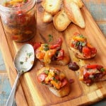 Roasted Pepper Topping