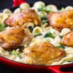 Creamy Pasta with Chicken and Broccoli
