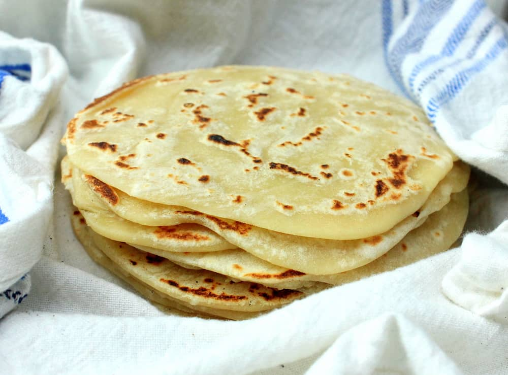 Homemade Flour Tortillas!